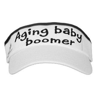 Aging baby boomer visor