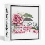 Aging Gracefully - Grandmother Mother's Day Vinyl Binder