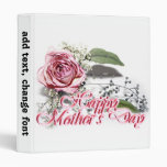 Aging Gracefully - Grandmother Mother's Day 3 Ring Binders