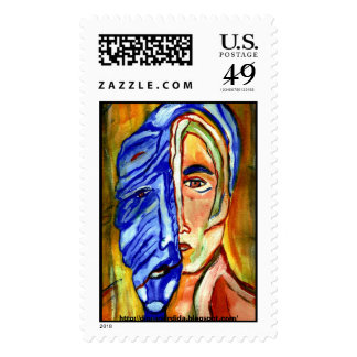 aging, http://diosaperdida.blogspot.com/ postage stamps