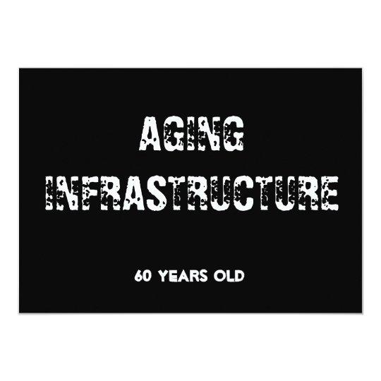 Aging Infrastructure Milestone Invitation