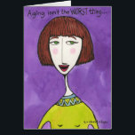 """Aging Isn&#39;t the Worst Thing . . . Card<br><div class=""""desc"""">One of my all-time most popular cards! I love this one myself :-).</div>"""
