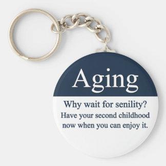 Aging Keychain