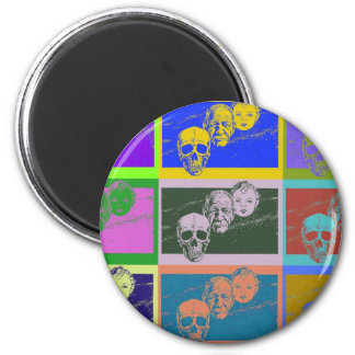 AgingGrace 2 2 Inch Round Magnet