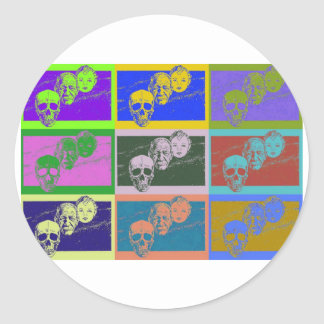 AgingGrace 2 Classic Round Sticker
