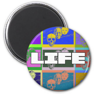 AgingGrace 4 2 Inch Round Magnet