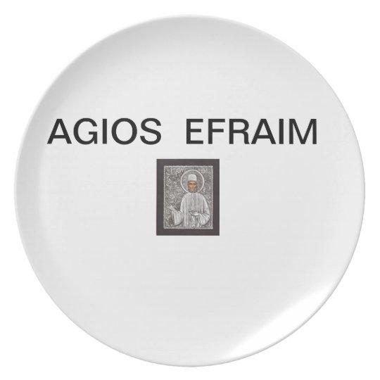 AGIOS EFRAIM PLATE