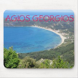 Agios Georgios Pagon, Corfu - Mouse Pad