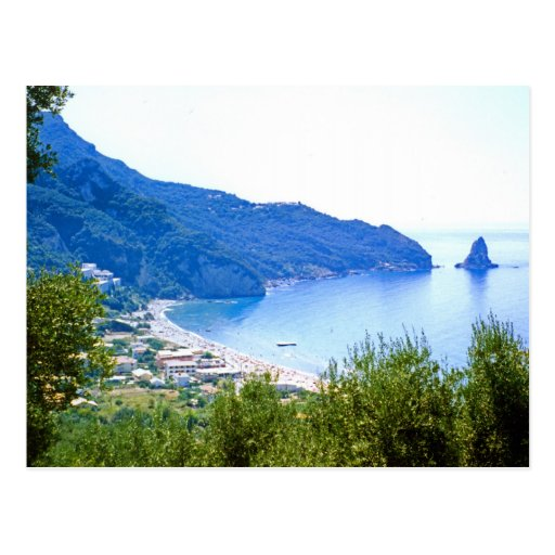 Agios Gordios Postcard