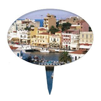 Agios Nikolaos Creta Grecia Figuras De Tarta