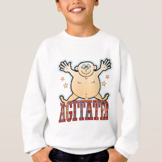 Agitated Fat Man Be Sweatshirt
