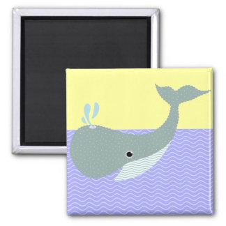 agite la ballena imán