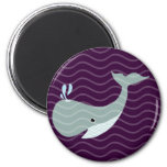 agite la ballena iman de nevera