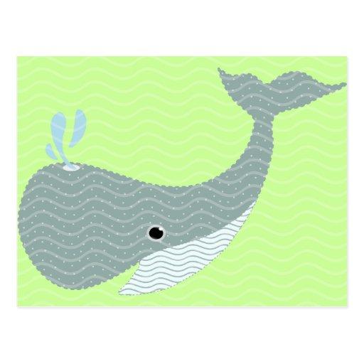 agite la ballena postal