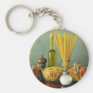 aglio, olio e peperoncino (garlic, oil and chili) keychain