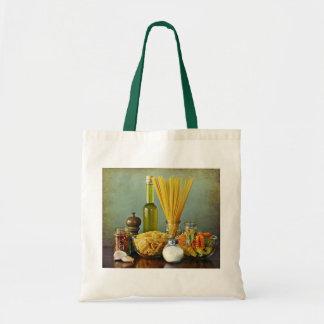 aglio, olio e peperoncino (garlic, oil and chili) tote bag