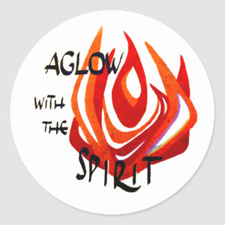 Aglow with the Spirit Stickers