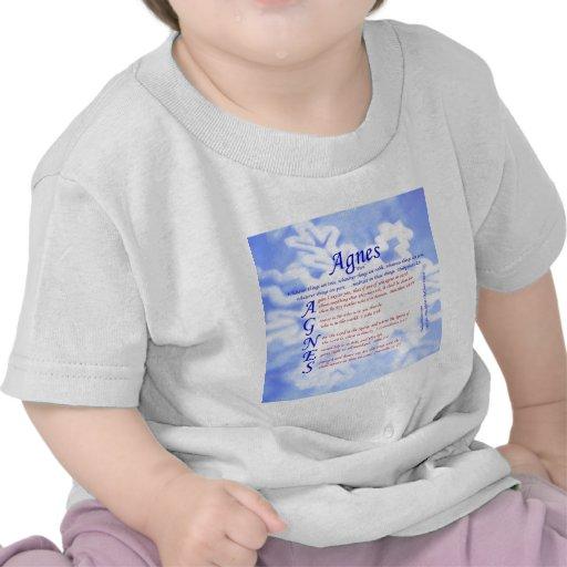 Agnes Acrostic T Shirts