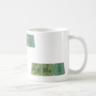 Agnes as Silver Neon Sulfur Coffee Mug