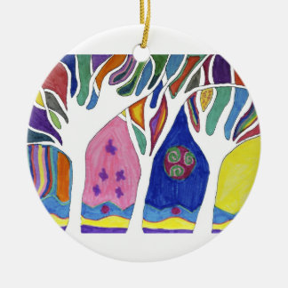 Agnes Chu Ceramic Ornament