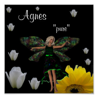 Agnes Gift Poster