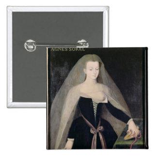 Agnes Sorel  Favourite of Charles VII Pinback Button