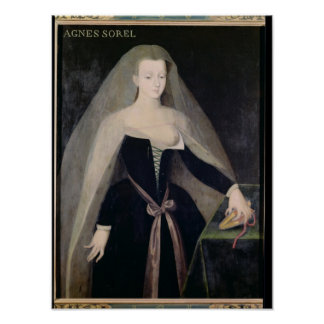 Agnes Sorel  Favourite of Charles VII Poster