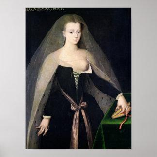 Agnes Sorel Poster