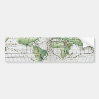Agnese World Chart Bumper Sticker