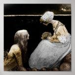 Agneta and the Sea King Print