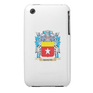 Agnete Coat Of Arms Case-Mate iPhone 3 Case