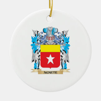 Agnete Coat Of Arms Christmas Ornament