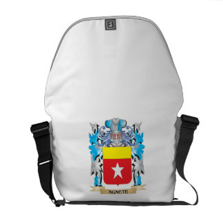 Agnete Coat Of Arms Courier Bag