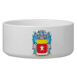 Agnete Coat Of Arms Dog Food Bowl