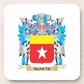 Agnete Coat Of Arms Drink Coasters