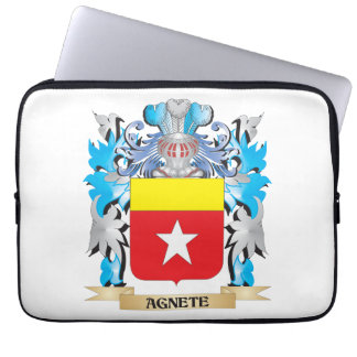 Agnete Coat Of Arms Laptop Computer Sleeve