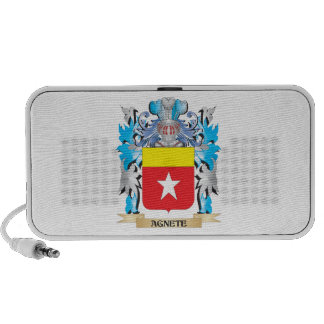 Agnete Coat Of Arms Notebook Speaker