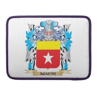 Agnete Coat Of Arms Sleeves For MacBook Pro