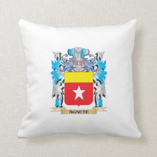 Agnete Coat Of Arms Throw Pillows