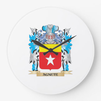 Agnete Coat Of Arms Wall Clocks