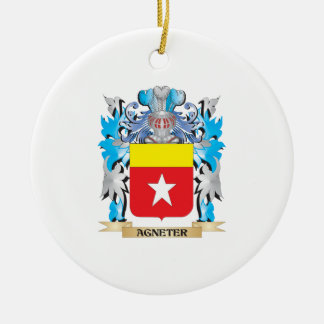 Agneter Coat Of Arms Christmas Tree Ornament