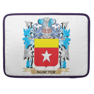 Agneter Coat Of Arms MacBook Pro Sleeves