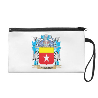 Agneter Coat Of Arms Wristlet Clutch