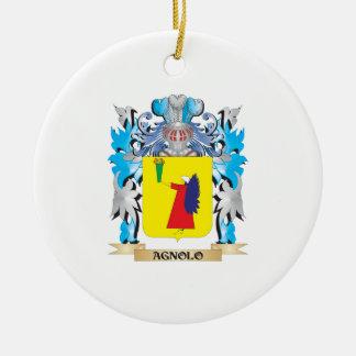 Agnolo Coat Of Arms Christmas Ornament