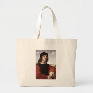 Agnolo Doni por la bolsa de asas de Raphael