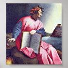 Agnolo Gaddi - Allegorical Portrait (Dante) Poster