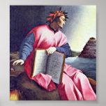 Agnolo Gaddi - Allegorical Portrait (Dante) Posters