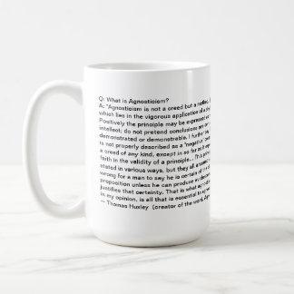 Agnostic Alliance - Agnosticism Definition - Mug