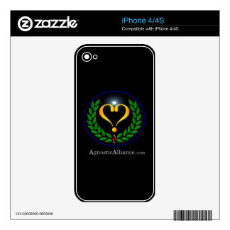 Agnostic Alliance - iPhone 4/4S Skin Skin For iPhone 4S