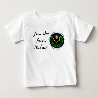 Agnostic Alliance Just the Facts Infant T-Shirt